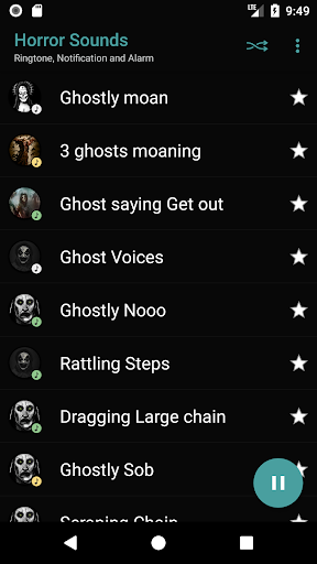 appp.io - horror sounds screenshot 2