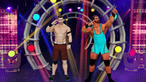 Tag Team Wrestling Games: Mega Cage Ring Fighting modavailable screenshots 2