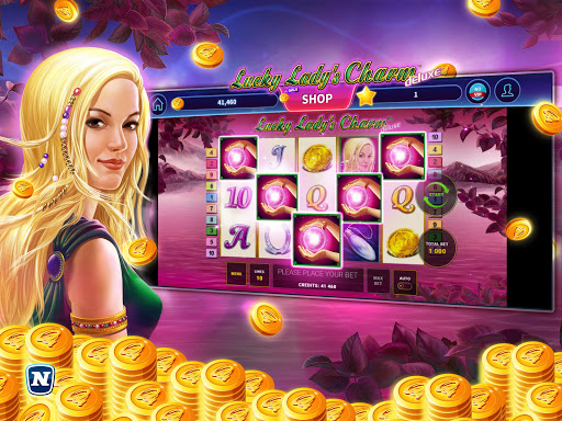 Lucky Lady's Charm Deluxe Casino Slot screenshots 4