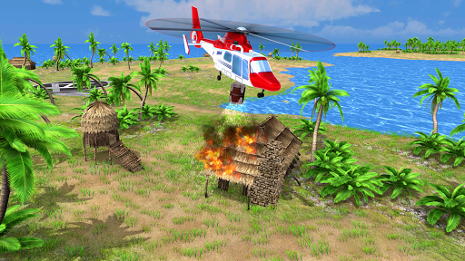 Helicopter Rescue Flying Simulator 3D 1.1 screenshots 11