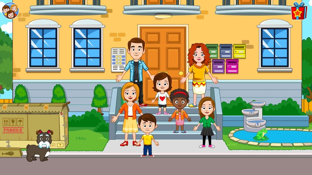 My Town : Best Friends' House games for kids poster 10