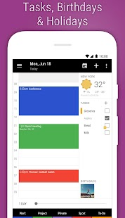 Business Calendar 2 - Agenda, Planner & Widgets Screenshot