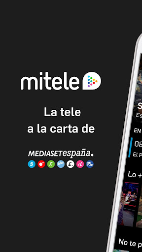Mitele - Mediaset Spain VOD TV apktram screenshots 1