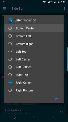 Side Bar Free - Edge Screen - Gesture Shortcuts screenshots 4