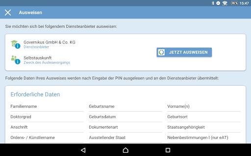 AusweisApp2 1.20.2 screenshots 14