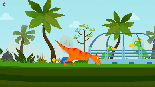 Jurassic Rescue – Dinosaur Games in Jurassic! Hack for Android and iOS 4