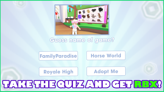 Free Robux Quiz Guru 1.3.9 Screenshots 1