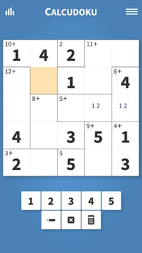 Calcudoku u00b7 Math Logic Puzzles Apkfinish screenshots 2