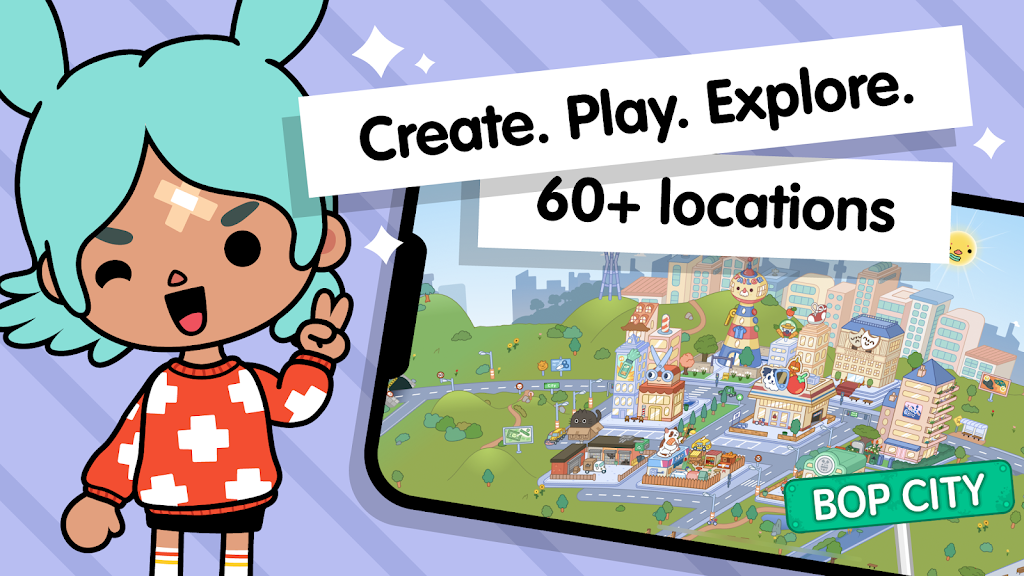 Toca Life World: Build stories & create your world  poster 1
