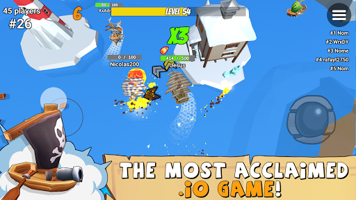 Ship.io - New online multiplayer io game for free 3.0 screenshots 9