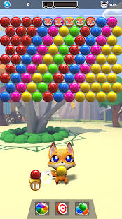 Hero Fox - Bubble Shooter Screenshot