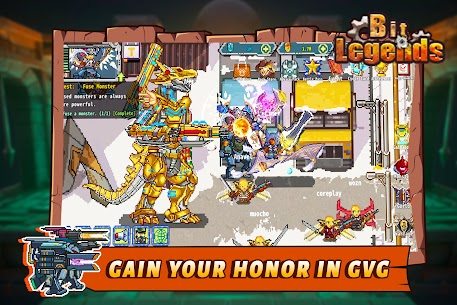 Download Bit Legends MOD APK (Free Shopping) New Version 8