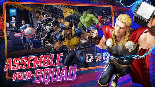 MARVEL Strike Force  Squad RPG Apk 2