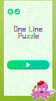 One Stroke Drawing Puzzle