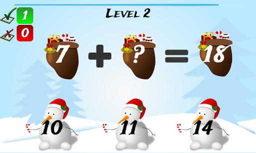 Christmas Games Math Santa 2.2 screenshots 7