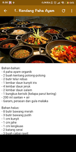2020 Resep Masakan Indonesia Offline Android App Download Latest