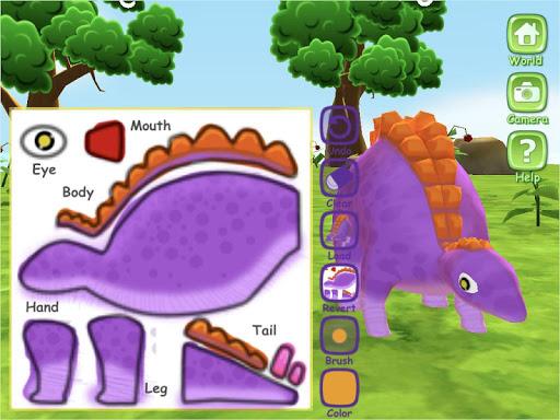 Dinosaur World 3D - AR Camera  screenshots 6