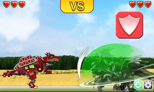 Ninja Velociraptor-Combine!Dino Robot:DinosaurGame 2.0.1 screenshots 5