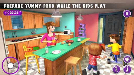 Virtual Mother New Baby Twins Family Simulator  screenshots 10