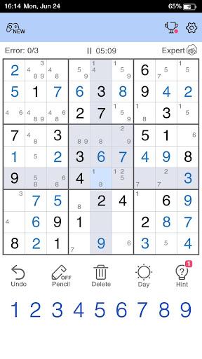 Sudoku - Free Sudoku Game 1.1.4 screenshots 2