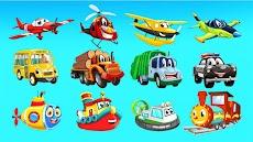 幼児、幼稚園、幼稚園児向無料車ゲーム : 車の音と名前、自動車パズル、カーカラーのおすすめ画像5