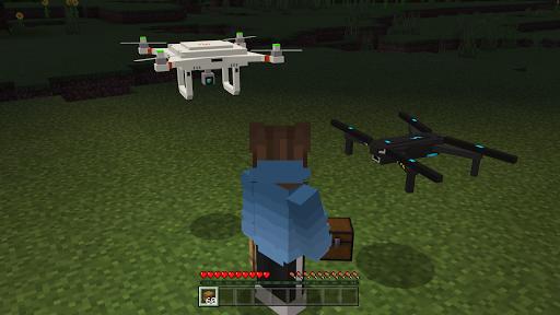 Drone Mod For Minecraft PE  screenshots 1