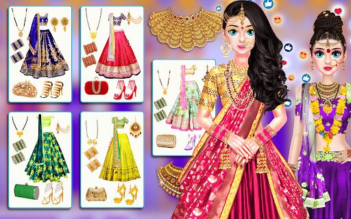 Indian Stylist Bride Dress up & Makeup Beauty Game screenshots 15