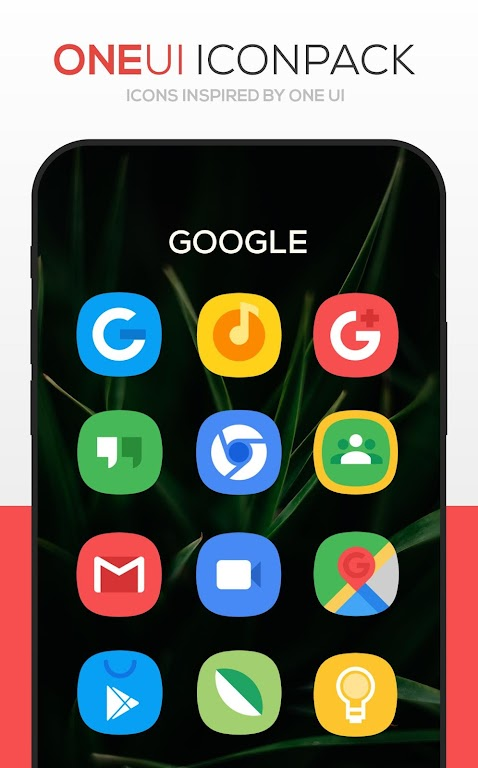 ONE UI Icon Pack poster 1