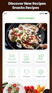 Snacks Recipes Offline Nasta Indian Street Food 2.0 screenshots 2