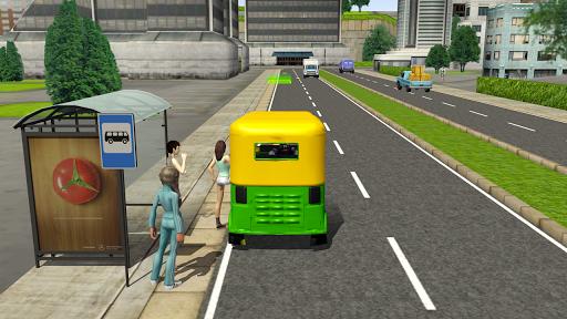 Tuk Tuk Rickshaw City Driving Simulator 2020 apklade screenshots 2