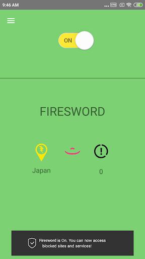 ?firesword vpn pro - free vpn & secure service screenshot 1