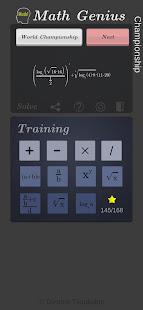 Math Genius Championship 0.12 screenshots 1