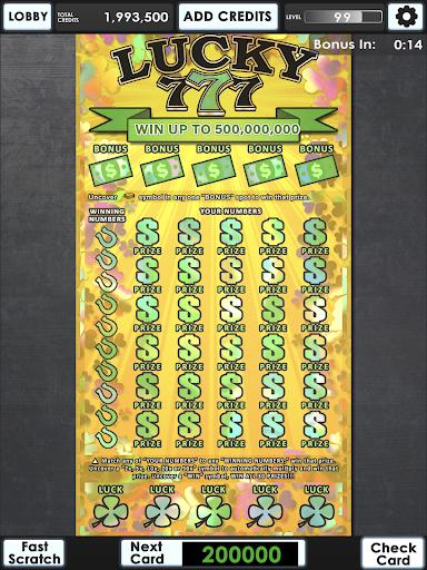 Lucky Lottery Scratchers 1.0.2 Screenshots 18