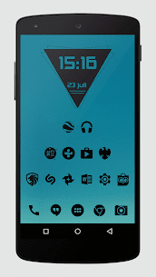 Zwart – Black Icon Pack APK Download for Android 3