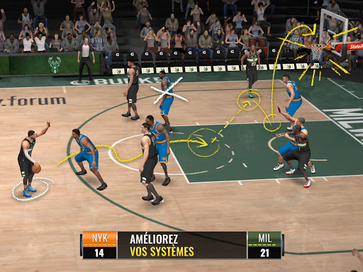 Code Triche NBA LIVE Mobile Basket-ball (Astuce) APK MOD screenshots 6