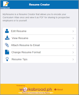 MyResume Resume Creator  For Pc (Download On Windows 7/8/10/ And Mac) 2