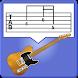 ギターTab譜作成ツール Guitar Tab Creator - Androidアプリ