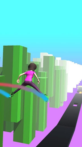Sky Parkour Roller 8 screenshots 4