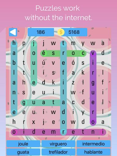 buscando palabras: sopa de letras en espau00f1ol apkmr screenshots 10
