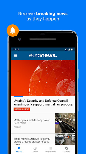 Euronews: Daily breaking world news & Live TV 5.4.2 Screenshots 5