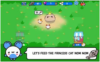 Princess Cat Nom Nom Evolution