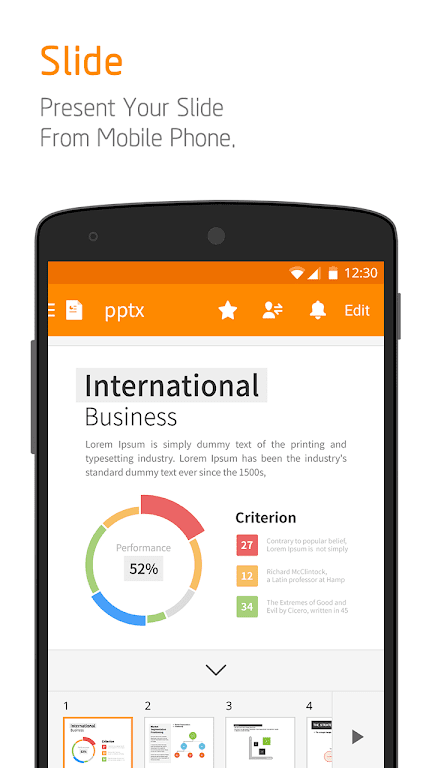 Polaris Office - Free Docs, Sheets, Slides + PDF poster 3