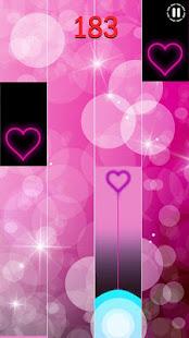 Heart Piano Tiles Pink screenshots 2