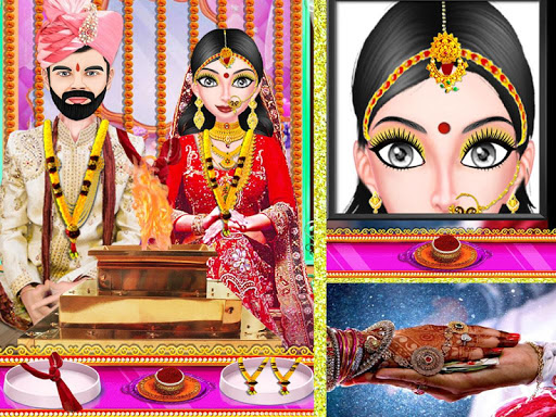Indian Royal Wedding Beauty - Indian Makeup screenshots 16