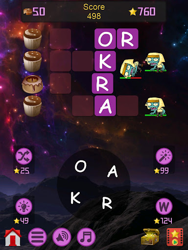 Words vs Zombies - fun word puzzle game apkmr screenshots 19
