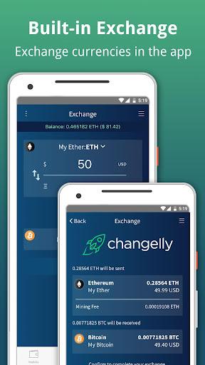 Edge - Bitcoin, Ethereum, Monero, Ripple Wallet  Screenshots 9