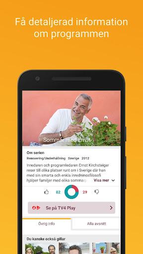 tv.nu - guide till tv och streaming screenshot 3