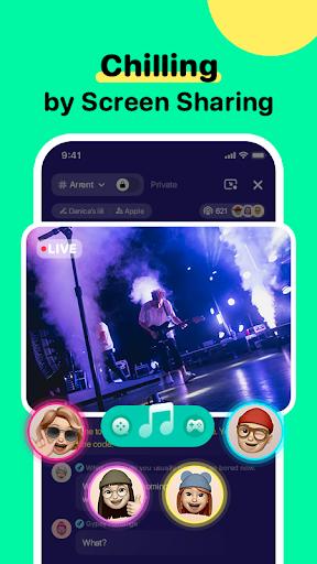 TIYA - Voice Chat Platform for Global Gamers apktram screenshots 4