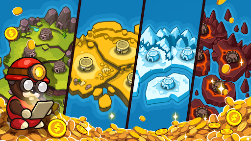 Popo's Mine - Idle Mineral Tycoon  screenshots 4