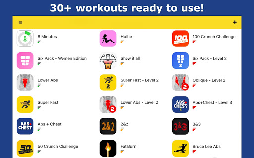 Abs Workout - Daily Fitness 4.7.9 Screenshots 7